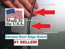 molding Trim Guard Protectors (4 Door Kit) CHROME DOOR EDGE GUARDS  fits: GMC