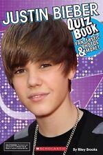 Justin Bieber Quiz Book by Scholastic Canada Ltd. Staff (2011, Paperback)