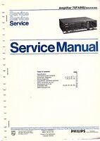 Philips Original Service Manual Für 70 Fa 569 Online Shop Tv, Video & Audio