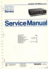 Philips Original Service Manual für 70 FA 860
