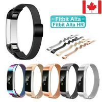 Stainless Steel Magnetic Wristband Bracelet Strap Band For Fitbit Alta/Alta HR