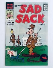 SAD SACK #3, Complimentary Copy, Harvey, 1957, FILE COPY, NM, 9.4-9.6, CGC Ready