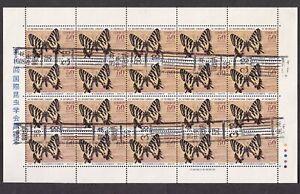 Japan 1980 entomology congress butterfly, used (ju594)