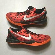 2013 Nike Kobe 8 VIII System Challenge Red Team Orange Size 9 (555035-600) Used!