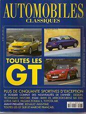 AUTOMOBILES CLASSIQUES 106 SPECIAL TOUTES LES GT DE L'ANNEE 2000 2001