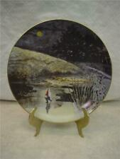 Rien Poortvliet Collector Plate Gnomes Four Seasons Winter First Skater