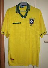 Brazil 1994/1997 Home football shirt jersey Umbro size XL