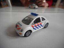 Siku VW Volkswagen New Beetle Politie in White