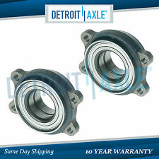 New Set (2) Rear Driver & Passenger Wheel Hub and Bearing Assembly for Audi ABS