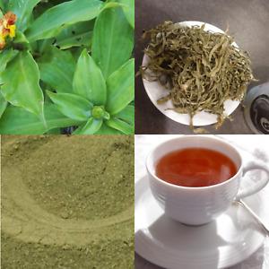 Dried Organic Insulin plant leaf cut&sifted | Powder Best For Herbal Tea