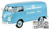VW T1 Ersatzteile-Dienst Kastenwagen - 1:24 Motor Max   m/o Wunschkennzeichen