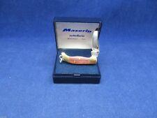 Maserin Miniature Mini Folding Knife With Hardwood Handles Mint In Display Case