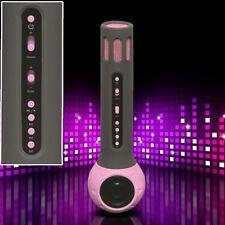 Karaoke Microphone With Bluetooth and Built in Speaker DENVER Kms-10 Pink