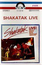 Shakatak .. Live  Import Cassette Tape