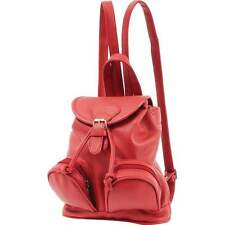 Fleur De Lune RED Ladies Small Backpack Purse..........................LUPU701RD