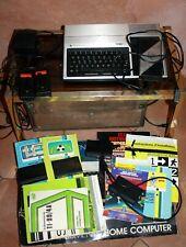 Texas Instruments TI-99/4A Computer + boite 4 jeux Joystick notices ordinateur