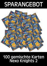 LEGO Nexo Knights 2 - Trading Cards - 100 gemischte - Deutsch