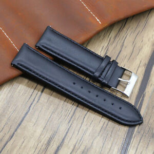 Mens Watch Strap Genuine Leather Handmade Band 18MM 20MM 22MM 24MM UK STOCK