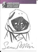 STAR WARS HERITAGE - SEAN PHILLIPS JAWA SKETCH CARD - 2004