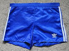 Original Adidas Sprinter Shorts 80/90er Vintage Glanz Nylon Shiny Blau S/M