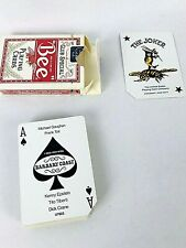 BARBARY COAST Bee Casino Playing Cards Used Cut Corner Deck Cellophane Cover