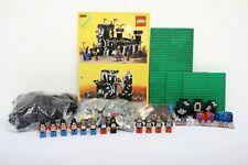 Lego Castle Black Knights Set 6085-1 Black Monarch's Castle 100% complete +instr