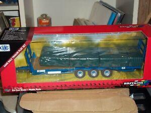 BRITAINS   43218 KANE BALE TRAILER SET        NEW BOXED