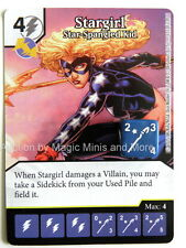 Justice League STARGIRL Star-Spangled Kid #131 rare Dice Masters DC card Wizkids