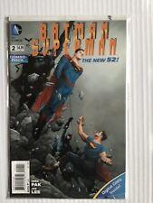 BATMAN SUPERMAN # 2 COMBO PACK EDITION NEW 52 DC COMICS