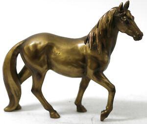 Faux Bronze Hand Made Detailed Horse Stallion Sculpture Figurine Statue Figure