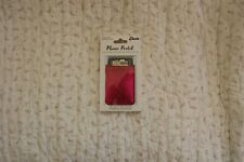 IDecoz Phone Pocket Peel and Stick Card Holder Pink