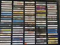 Lot Of 100 Vintage Audio Cassette Tapes Classic  Country 80s Rock Comedy Mix