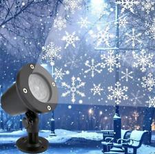 Projecteur Laser plein ciel Lumière d'extérieur Éclairage Neige fêtes de Noël