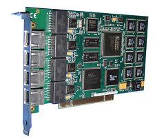 Eicon Diva Server 4-bri-8m attivo ISDN scheda 4-Port PCI 800-665-02 #55