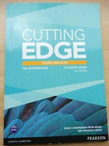Cutting Edge 3rd Edition Pre-Intermediate Students' Book and DVD-rom