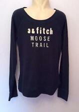 ABERCROMBIE & FITCH KIDS BLUE LONG SLEEVE TOP SIZE L