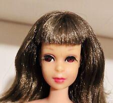 Vintage Mod 1967 Twist N Turn TNT Brunette Francie Doll Japan