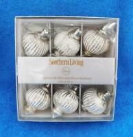 Southern Living Lighted 9 ft Mercury Glass Garland - Christmas Lights