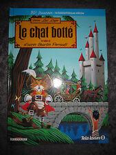 BD JEUNESSE LE CHAT BOTTE D'APRES CHARLES PERRAULT DELCOURT TELE-LOISIRS NEUF