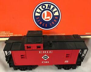 Lionel 6-26593 ~ Erie Square Window Caboose (Illuminated) ~ IN BOX