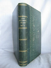 LIVRE ANCIEN XIX° - COMBATS ET BATAILLES DU SIEGE DE PARIS et LA COMMUNE 1870-71