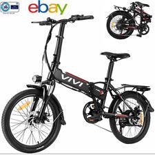 New listing 12'-26'' 350W Electric Bike Mountain Bicycle City Folding EBike 21 Speed Bike US