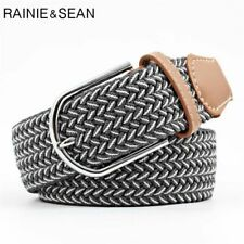 Braided Belt For Men Women Casual Pin Buckle Knitted Unisex Belt For Trousers