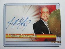 2002 BABYLON 5, THE COMPLETE - AUTOGRAPH CARD - ( A1 ) J. MICHAEL STRACZYNSKI