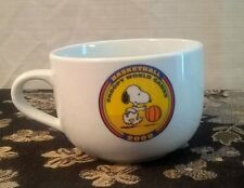 PEANUTS Snoopy World Games 2008 Big Oversized Bowl Cup Mug DARLIE Premium EUC