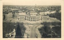 Austria Vienna panorama photo postcard