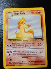 Pokemon Card Jungle Set - Rapidash 44/64 - NM