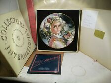Royal Doulton Juliana By F.H.C Masseria 1983 4 Of Four In Set