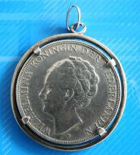 #0619# Pays Bas / Hollande Reine Wilhelmina: Médaille pièce 2, 1/2 Gulden
