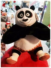 Peluche Kung Fu Panda 3 Dreamworks  Po Enorme Gigante meditazione 30cm x 20cm